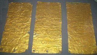 Gouden platen uit Pyrgi, Etrurië