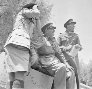 George Erskine tijdens de Mau Mau-opstand