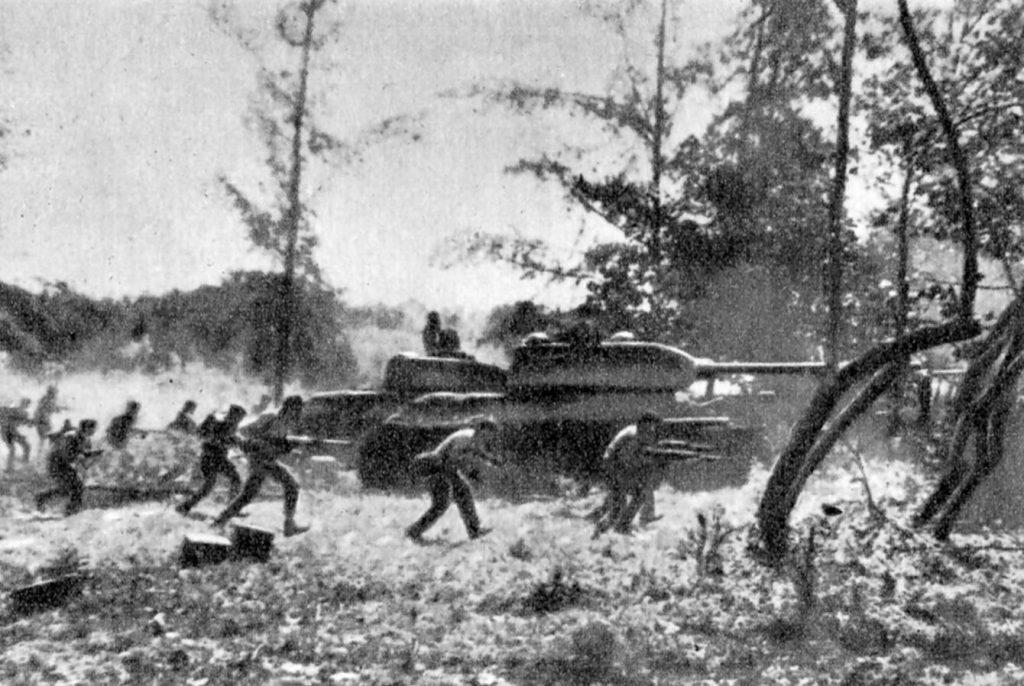 Foto gemaakt tijdens de Varkensbaai-invasie