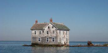 Het laatste huis van Holland Island