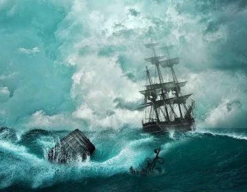 Het schip in gaan (CC0 - Pixabay - Comfreak)