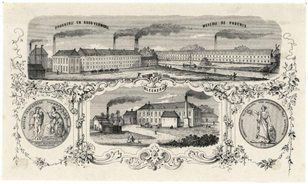 De fabrieken van Prévinaire (Noord-Hollands Archief)