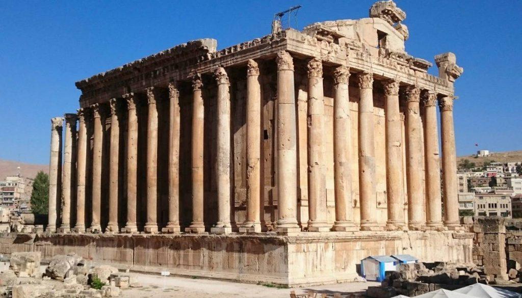 Tempel van Bacchus in Baalbek