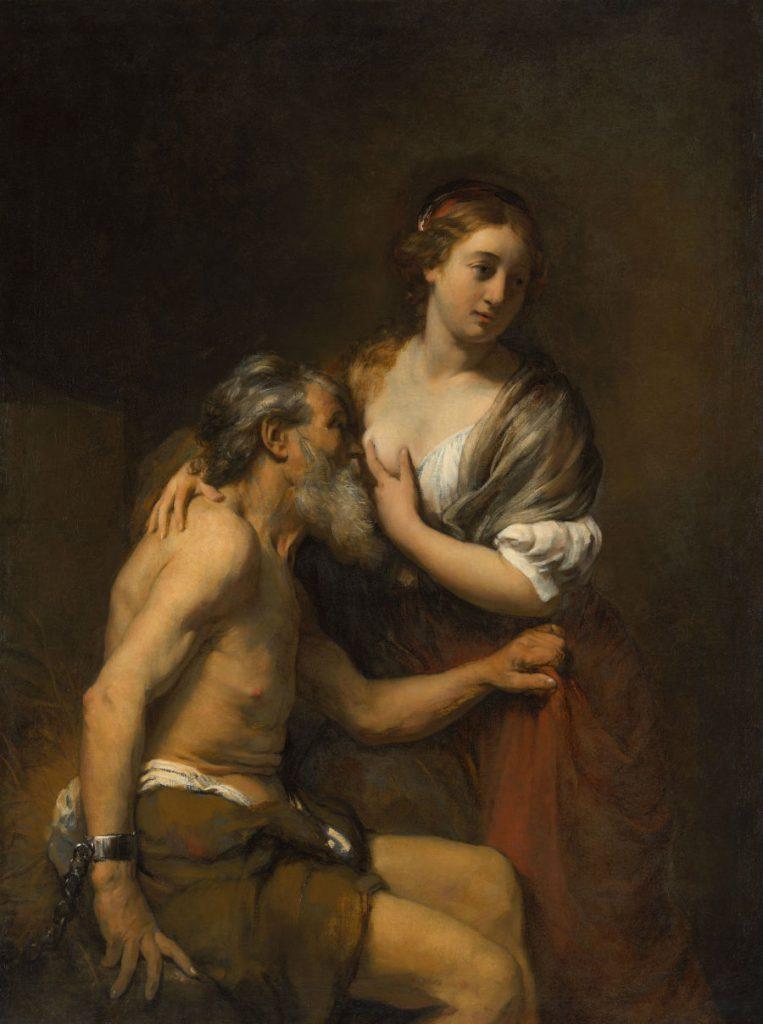 Willem Drost (1633-1659), Cimon en Pero. ca. 1655-1657, bruikleen van de Broere Charitable Foundation