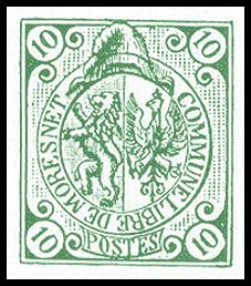 Postzegel uit Moresnet