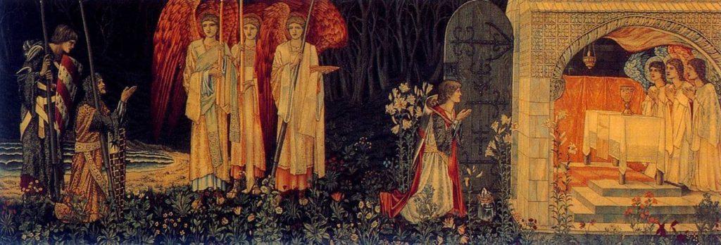 De zoektocht naar de heilige Graal - Sir Edward Burne-Jones