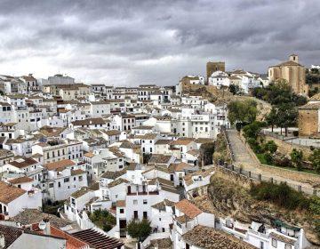 Zicht op Cadiz