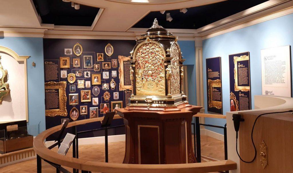 Clay klok in Museum Speelklok
