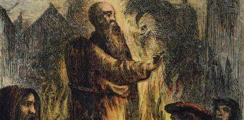 De dood van aartsbisschop Thomas Cranmer (1556)