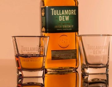 Whisky of whiskey? - Tullamore Dew, Ierse whiskey, mét een e