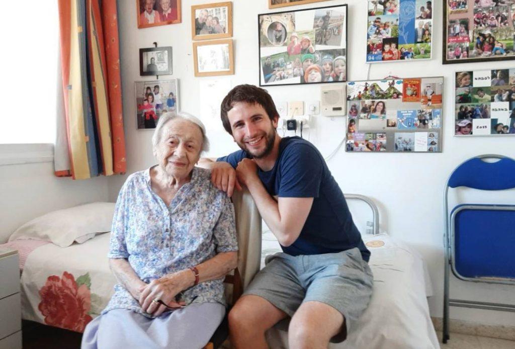 Eva Fastag en Pieter Serrien in Israël