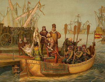 Vroegmoderne tijd - Vertrek van Columbus naar de Nieuwe Wereld, 3 augustus 1492