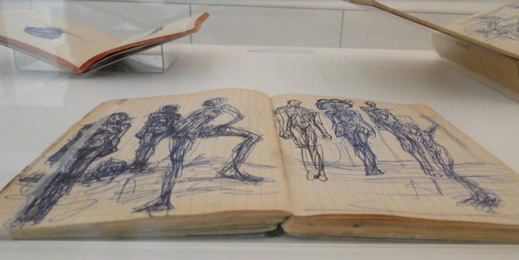 Schetsboek van Giacometti