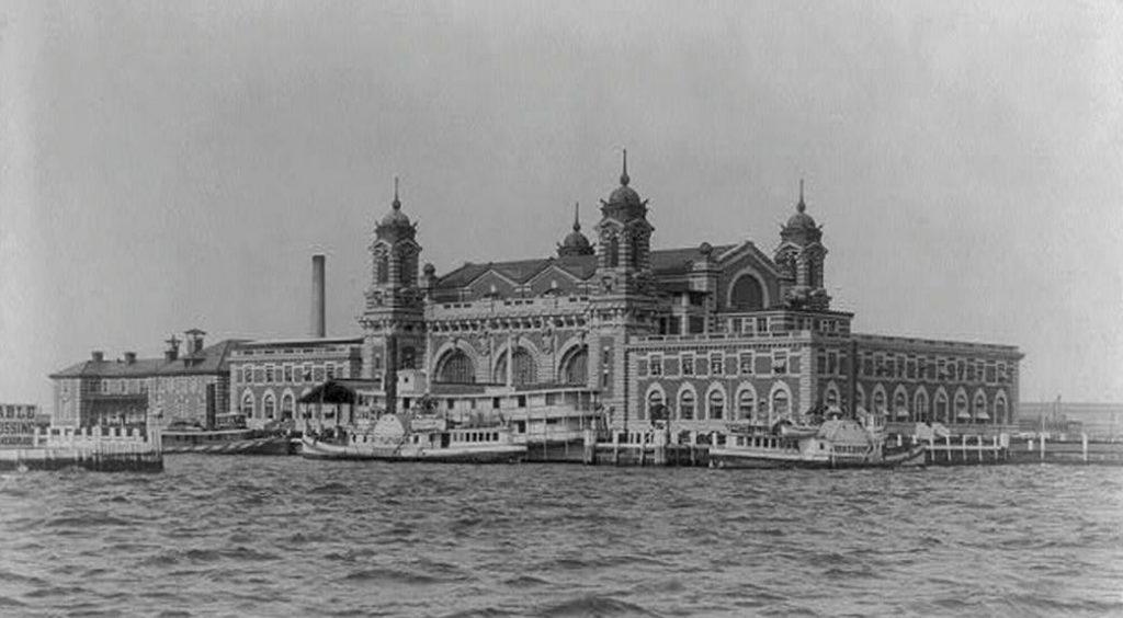 Tweede 'Ellis Island Immigration Station', 1905
