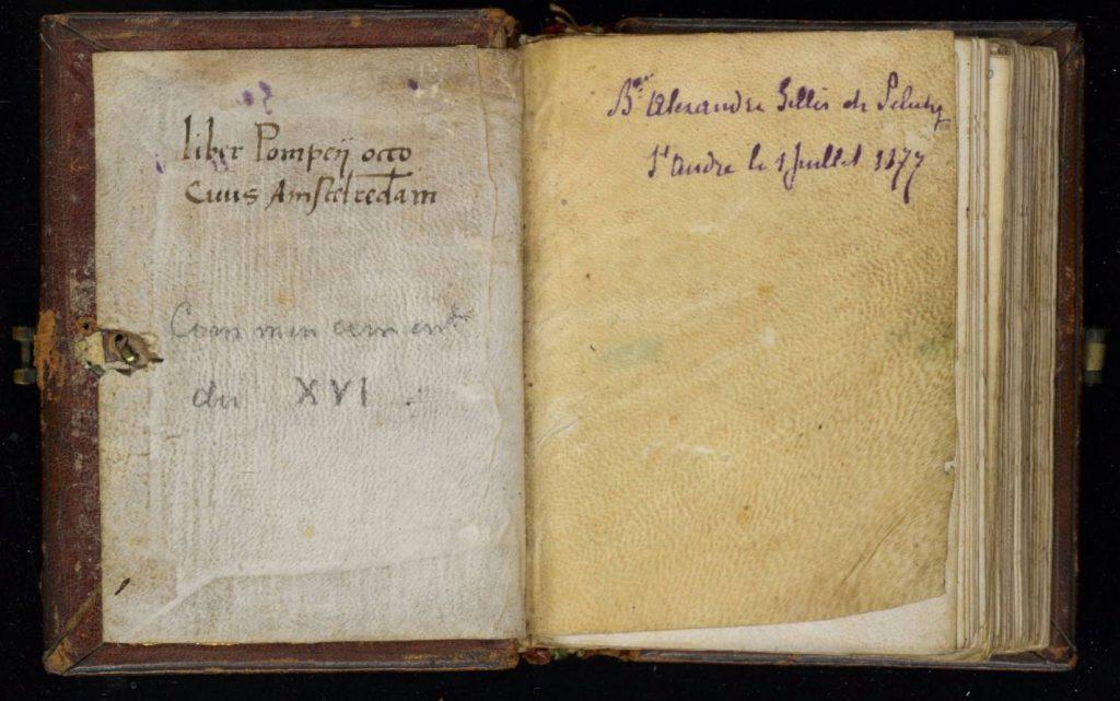 'Het gebedenboek' van Pompejus Occo - Allard Pierson, Universiteit van Amsterdam.