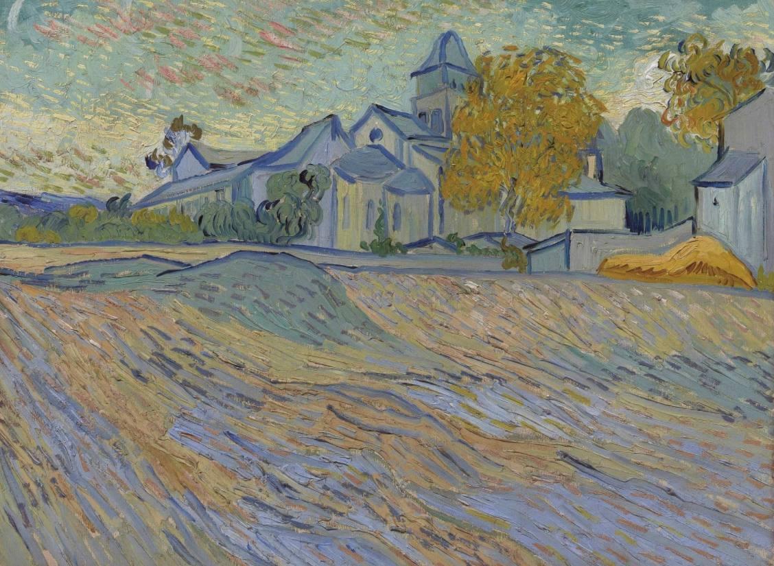 Saint-Paul-de-Mausole door van Gogh - herfst 1889