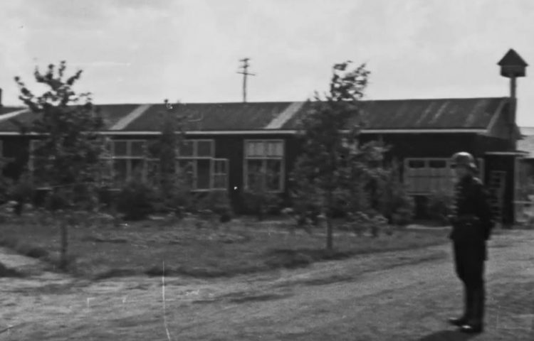 Still uit het nieuw ontdekte fragment van de Westerborkfilm (Beeld en Geluid)