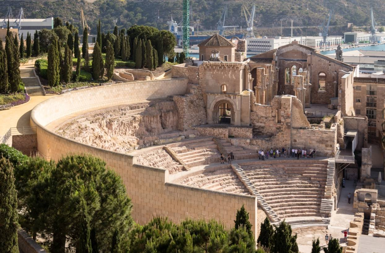 Teatro Romano in Cartagena
