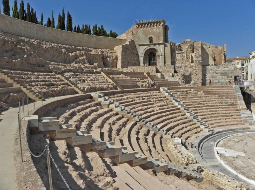 Romeins theater in Cartagena
