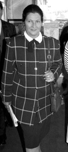 Simone Veil in Deauville, 31 mei 1988