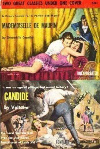 Beroemd boek over de Française van de hand van Théophile Gautier