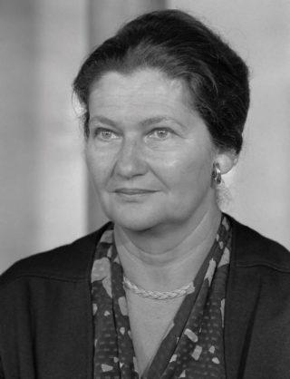 Simone Veil in 1984
