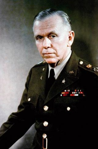 Generaal George Marshall in 1946