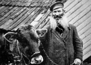 Joodse veehandelaar ca.1900 (privécollectie Willy Lindwer)