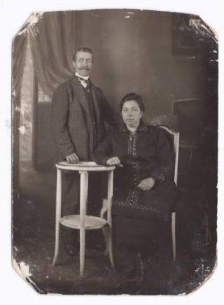 Cornelis en Anna Broertjes in Mülheim