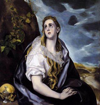De boetevaardige Magdalena - El Greco, 1568-1570