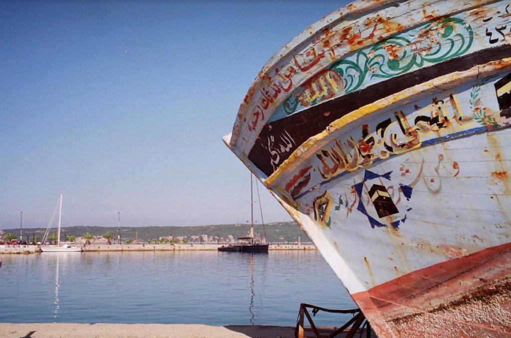 De baai van Navarino (Foto Rende van de Kamp)