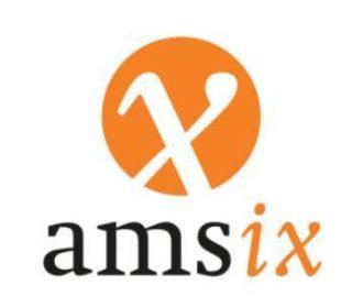 Logo van de AMS-IX