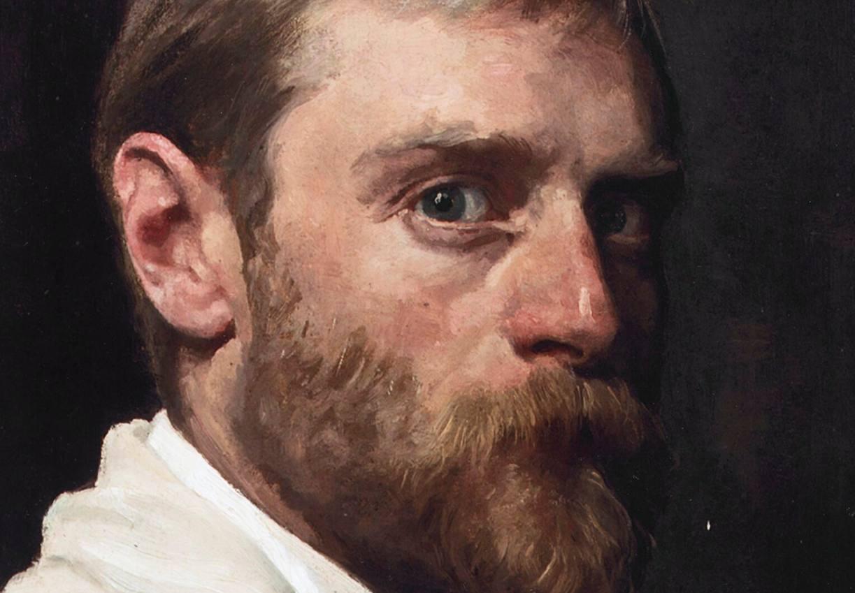 Willem Bastiaan Tholen - Zelfportret, 1914