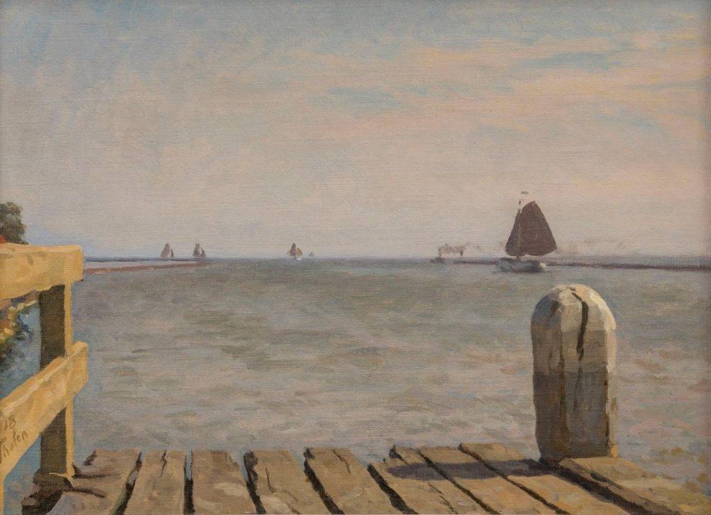 Willem Bastiaan Tholen – Plankier Enkhuizen, 1918