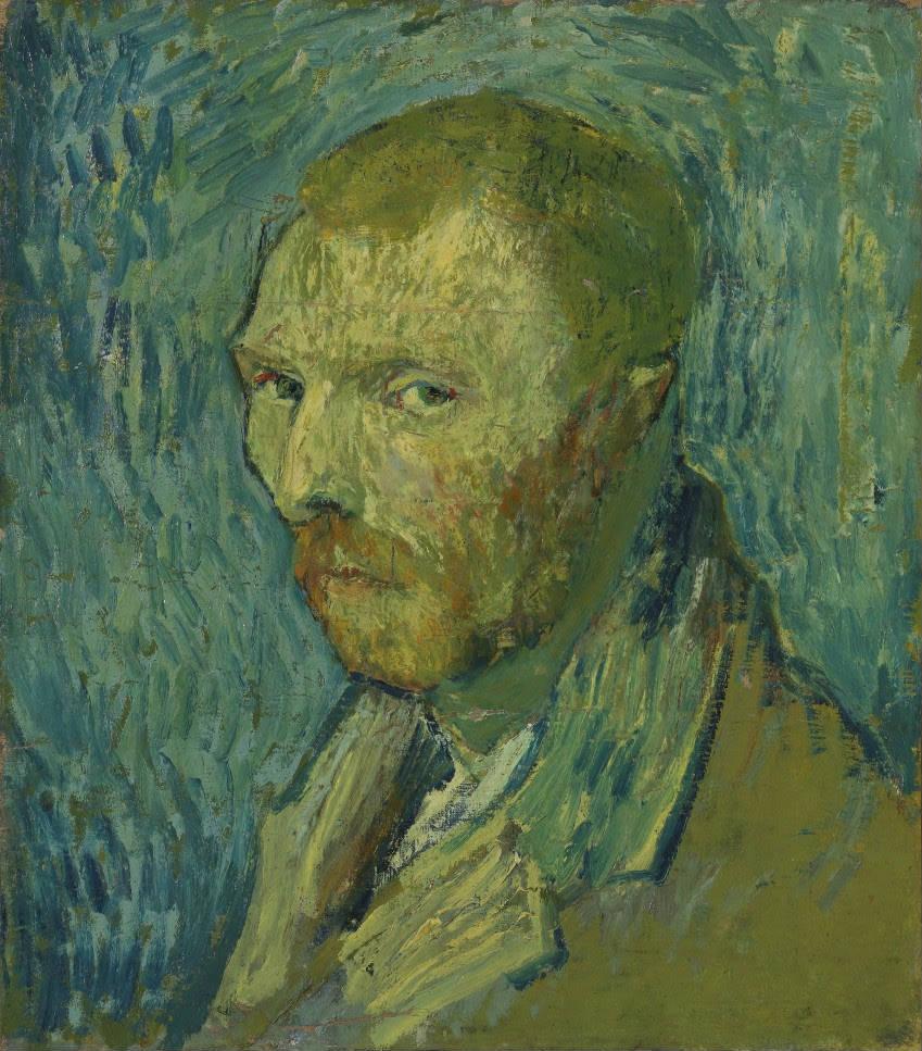 Vincent van Gogh, Zelfportret, 1889, olieverf op doek, 51,5 x 45 cm, Nasjonalmuseet for kunst, arkitektur og design, Oslo