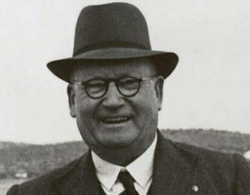 D.F. Malan, fragment uit de cover van het boek.