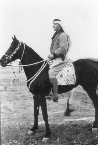 ALA-commandant Fawzi al-Qawuqji in 1948