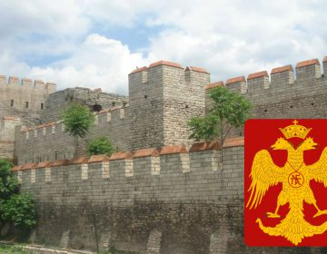 Byzantijnse Rijk - Muur van Constantinopel (Muur van Theodosius)