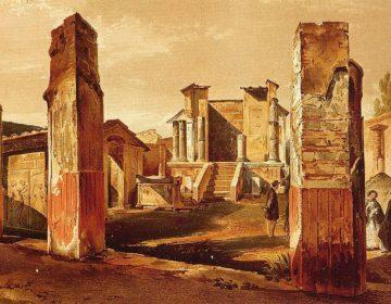 De tempel van Isis in Pompeii - Niccolini
