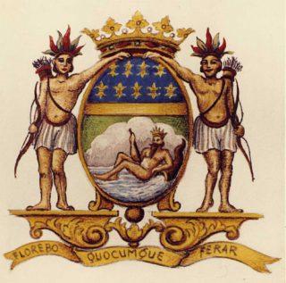 Wapen van de Franse Oost-Indische Compagnie