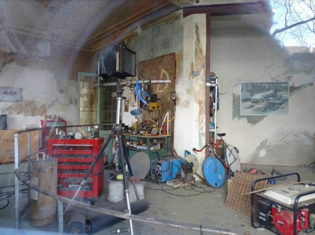 Atelier van de kunstenaar in Antwerpen (Foto: CS)