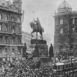 Tsjecho-Slowaakse onafhankelijkheidsverklaring - Praag, 18 oktober 1918