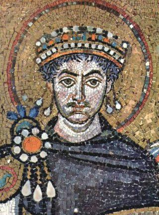 Mozaïek van keizer Justinianus