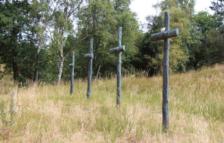 Monument fusilladeplaats Waaldorpervlakte. Foto: René ten Dam