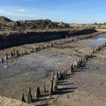 Veertig houten palen Romeinse weg naar museum