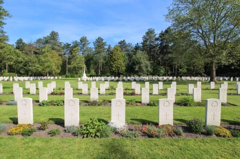 Canadian War Cemetery in Bergen op Zoom. Foto: René ten Dam