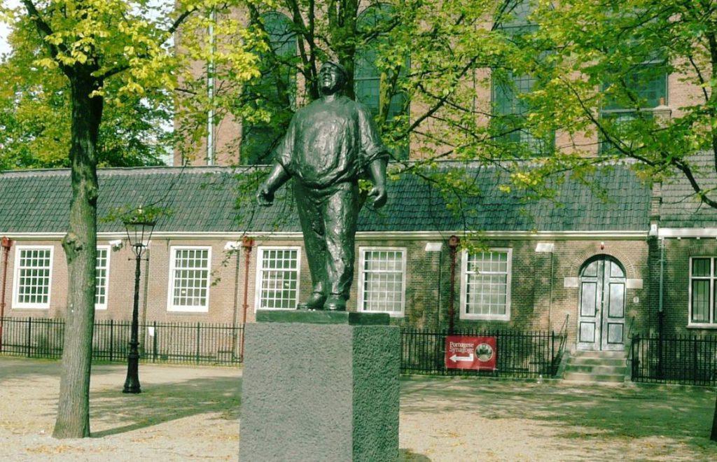 De Dokwerker - Monument ter nagedachtenis aan de Februaristaking