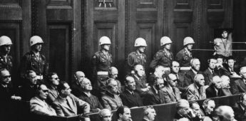 Nazi-propagandisten voor de rechtbank