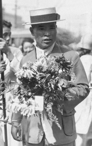 De echte Shizo Kanakuri in 1924