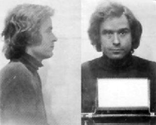 Mug shots van Ted Bundy uit 1975 (wiki)